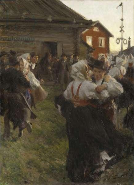 Midsummer Dance, 1897 (oil on canvas)
