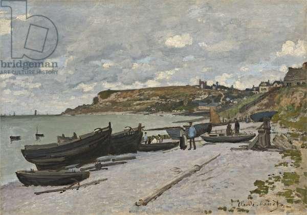 Sainte-Adresse, 1867 (oil on canvas)