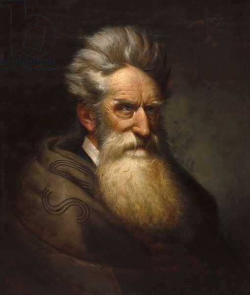 John Brown (1800-1859), 1872 (oil on canvas)