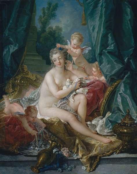 The Toilette of Venus, 1751 (oil on canvas)