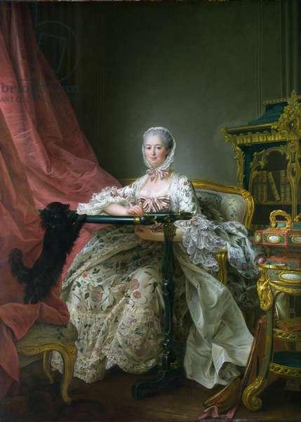 Madame de Pompadour, 1763-64 (oil on canvas)
