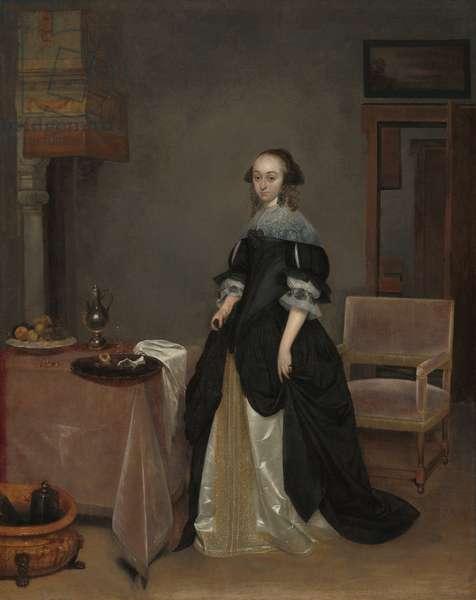 Maria van Suchtelen, c.1666 (oil on canvas)