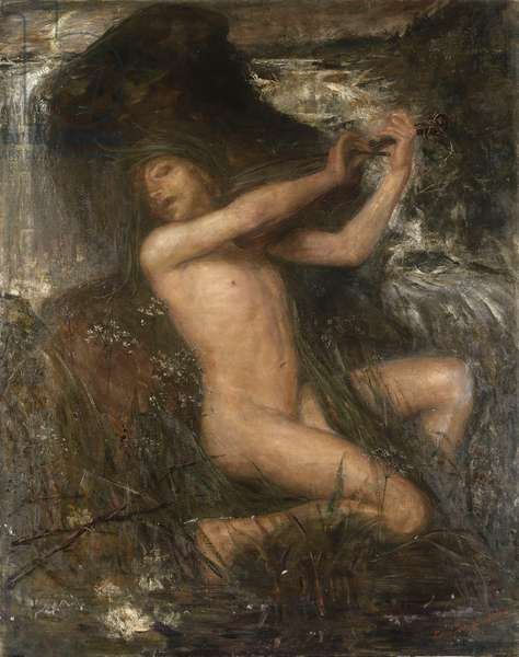 The Water Sprite, 1882 (oil on canvas)