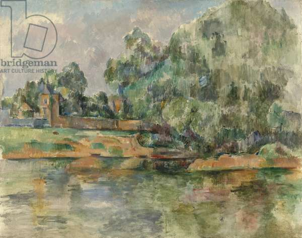Riverbank, c.1895 (oil on canvas)