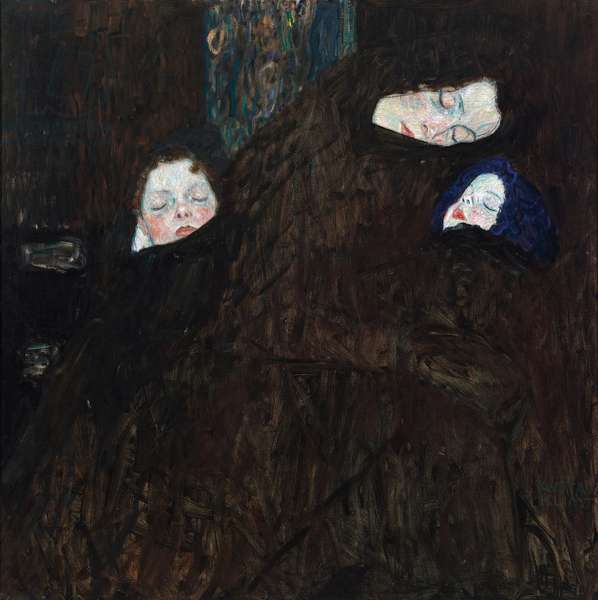 Mother with two children, 1909-10 (oil on canvas)