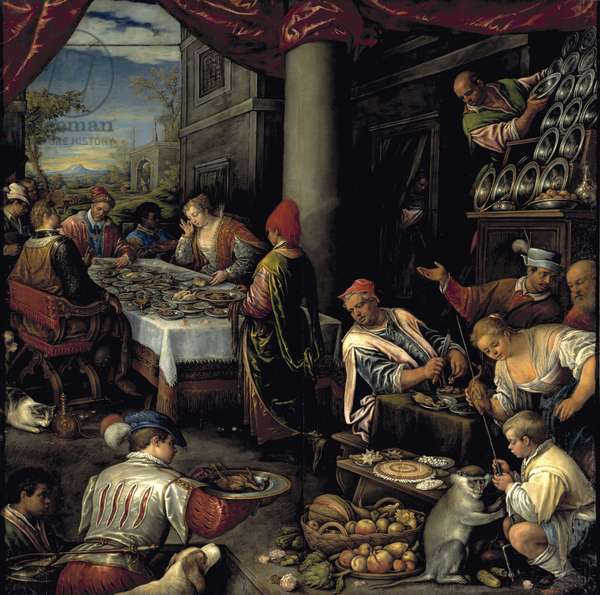 The Feast of Anthony and Cleopatra (oil on canvas)