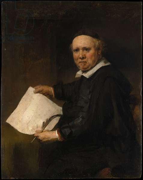 Lieven Willemsz van Coppenol (oil on oak)