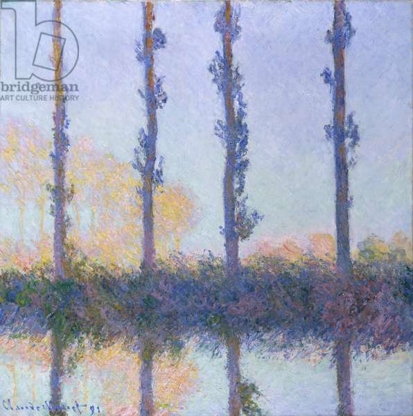 The Four Trees, 1891 (oil on canvas)
