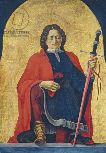 St Florian, c. 1473- 74 (tempera on panel)