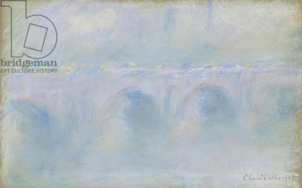Waterloo Bridge, 1901 (pastel)