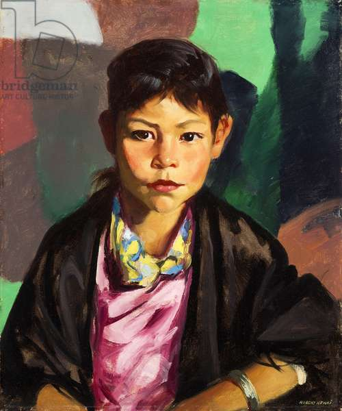 Pepita, 1917  (oil on canvas)