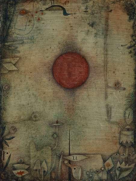 Ad marginem, 1930 (w/c on cardboard)