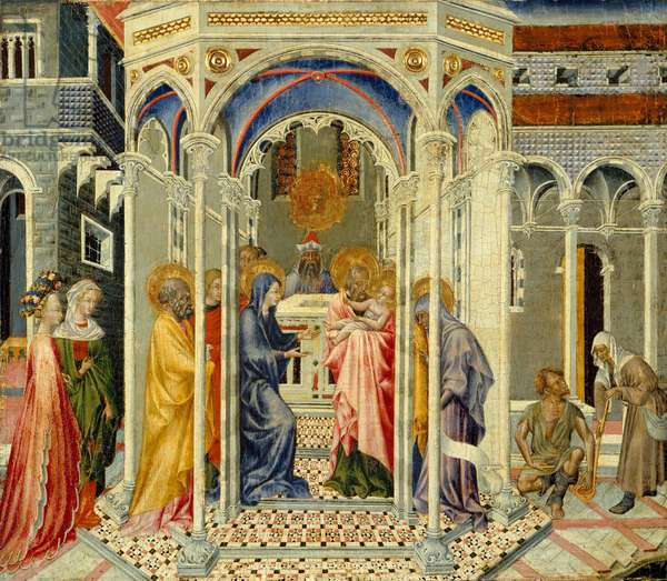 The Presentation of Christ in the Temple, c.1435 (tempera and gold on wood)