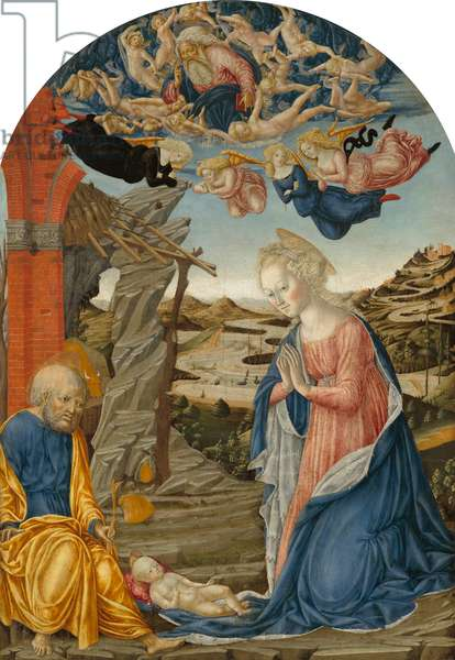 The Nativity, c.1470 (tempera on wood)
