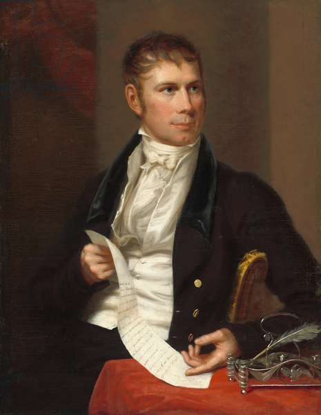 Henry Clay, 1821 (oil on canvas)