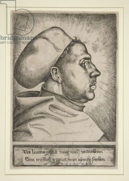 Martin Luther, 1523 (engraving)