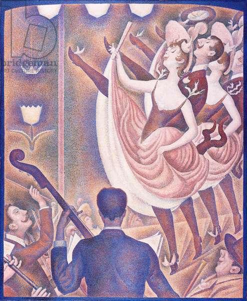 Le Chahut, 1890 (oil on canvas)