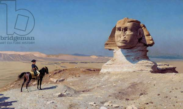 Bonaparte Before the Sphinx, 1867-68 (oil on canvas)