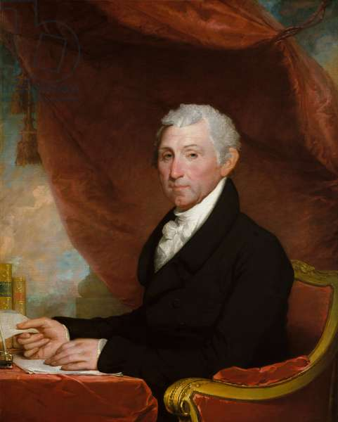James Monroe, c.1820-22 (oil on canvas)
