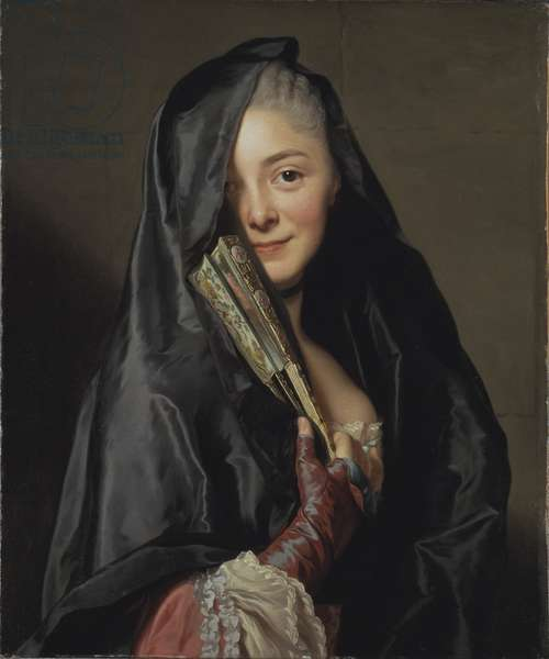 The Lady with the Veil, 1768 (oil on canvas)