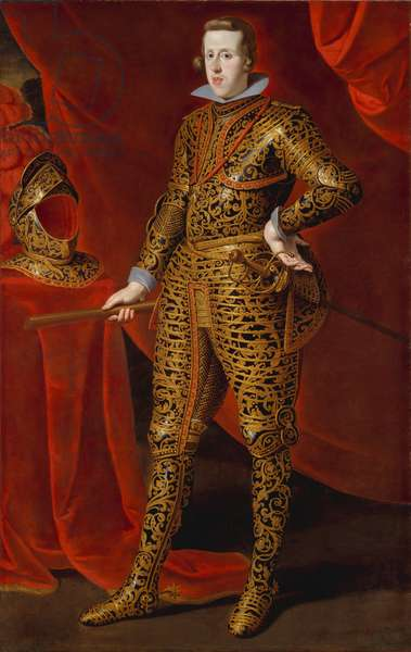 Philip IV in Parade Armor, c.1628 (oil on canvas)
