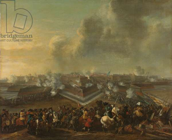Assault on the Town of Coevorden on 30 December 1672 (oil on canvas)