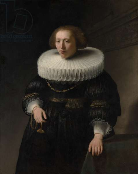 Portrait of a Woman, probably a Member of the Van Beresteyn Family, 1632 (oil on canvas)