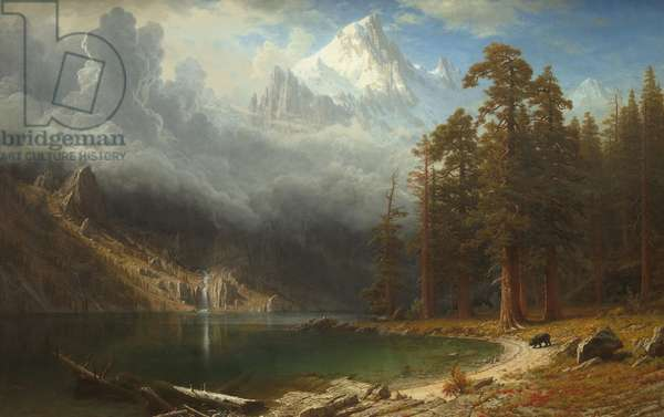 Mount Corcoran, c.1876-77 (oil on canvas)