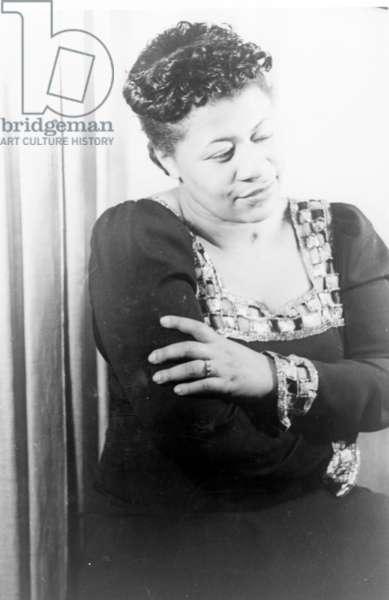 Ella Fitzgerald, 1940 (b/w photo)