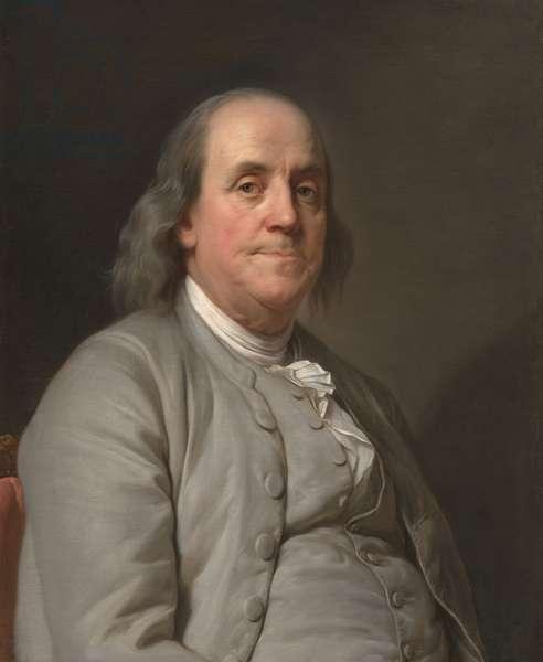 Benjamin Franklin (1706-1790), c.1785 (oil on canvas)