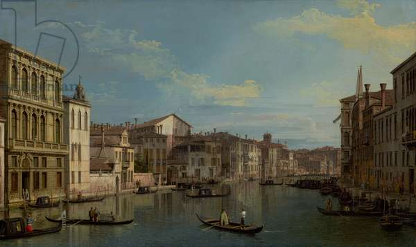The Grand Canal in Venice from Palazzo Flangini to Campo San Marcuola, c.1738 (oil on canvas)