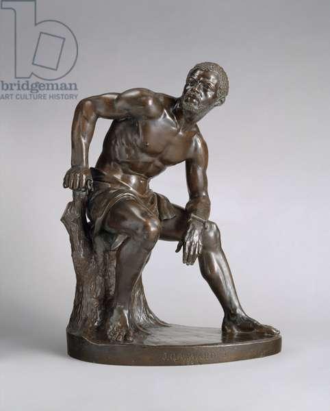 The Freedman, 1863 (bronze)