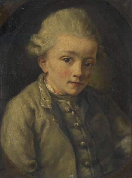 Mozart, 1763-64 (oil on canvas)