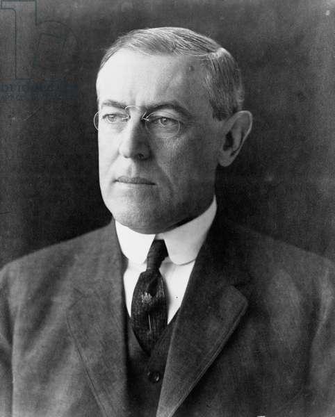 Woodrow Wilson, c.1912 (b/w photo)