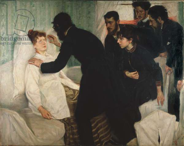 Hypnotic Seance, 1887 (oil on canvas)