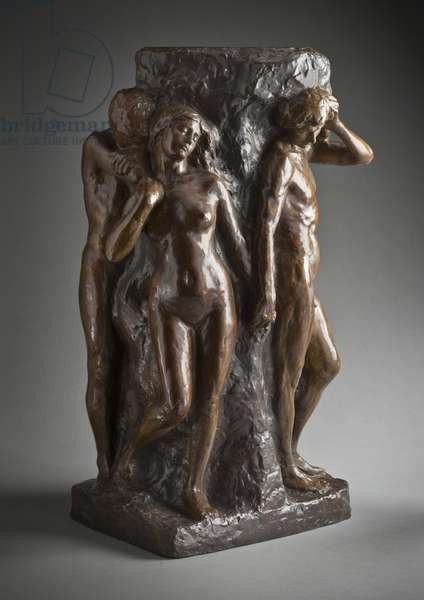 The Solitude of the Soul, 1901 (bronze)