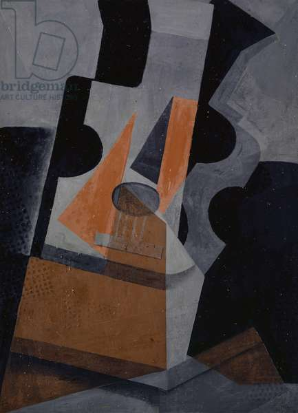 The Guitar (Still Life with Guitar), 1916 (oil on canvas)