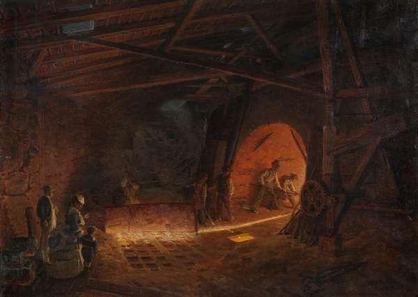 Masugnen, 1873 (oil on canvas)