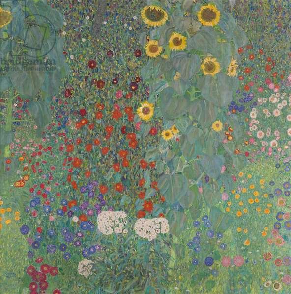 Farm Garden with Sunflowers, 1905-06 (oil on canvas)