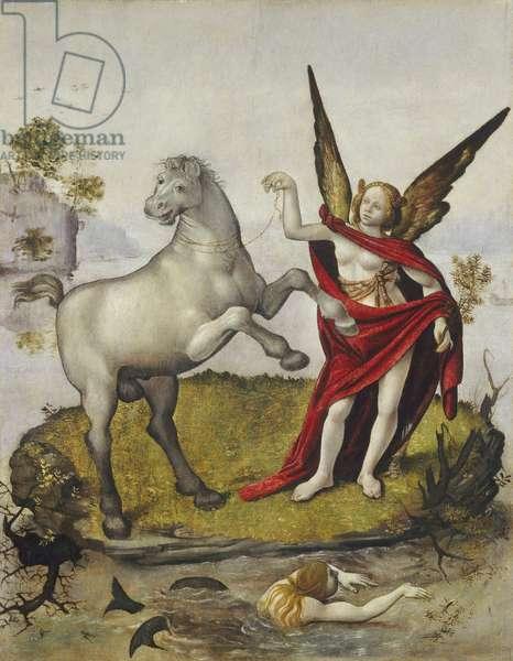 Allegory, c.1500 (oil on panel)