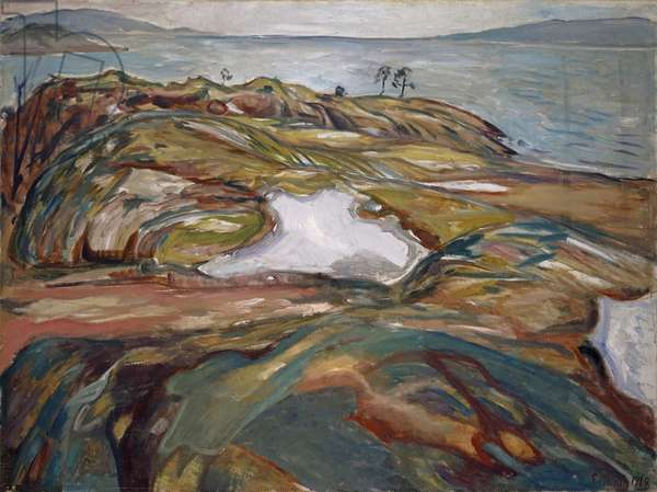 Coastal Landscape, 1918 (oil on canvas)