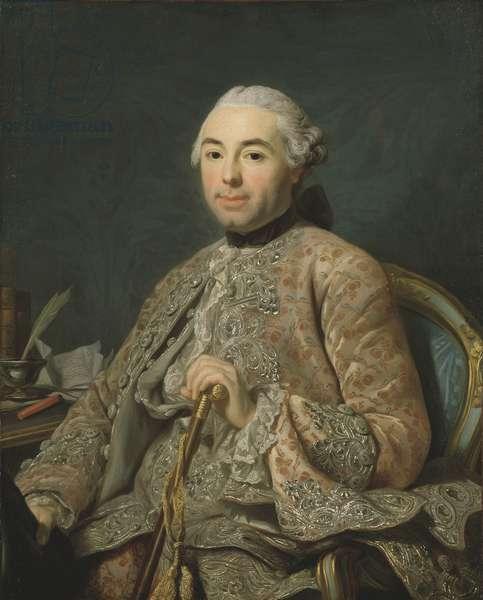 Baron de Neubourg-Cromière, c.1756 (oil on canvas)