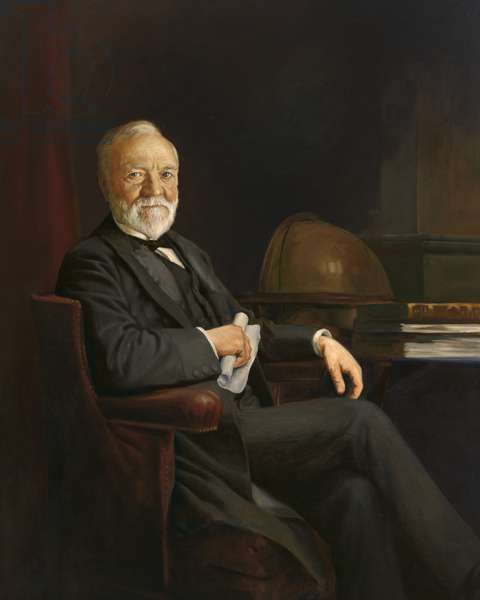 Andrew Carnegie  (1835 -1919), c.1905 (oil on canvas)