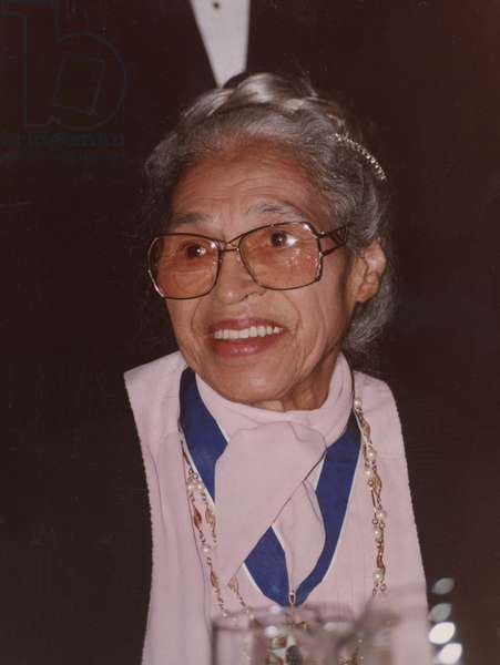 Rosa Parks at the White House, 1996 (photo)