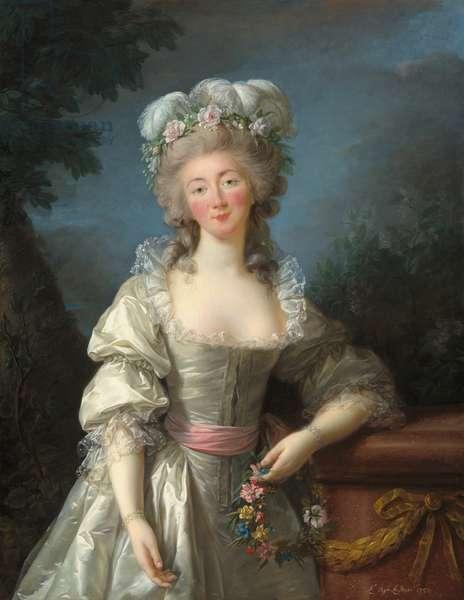Portrait of Madame du Barry, 1782 (oil on canvas)