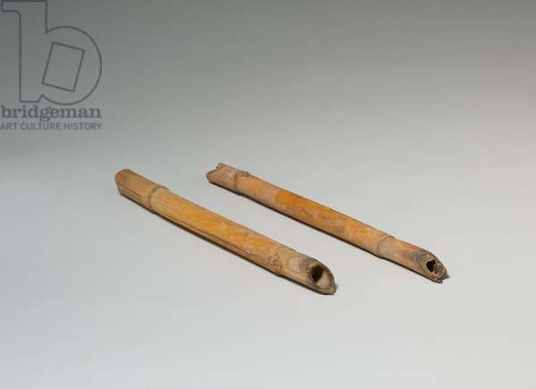 Sharpened Sticks from Tutankhamun's Embalming Cache, c. 1336–1327 B.C.(reed)