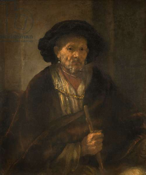 Portrait of an Old Man, 1655 (oil on canvas)