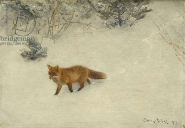 The Fox, 1893 (oil on canvas)