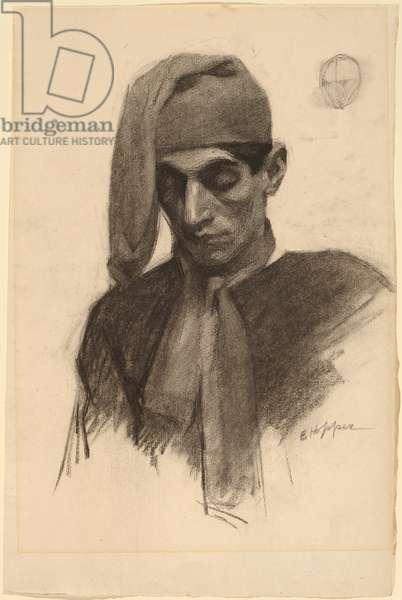 Jimmy Corsini, c.1901 (charcoal on paper)