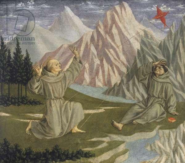 Saint Francis Receiving the Stigmata, c. 1445-50 (tempera on panel)